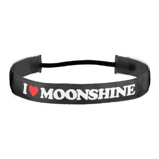 I LOVE MOONSHINE ATHLETIC HEADBAND