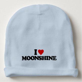 I LOVE MOONSHINE BABY BEANIE