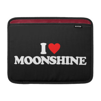 I LOVE MOONSHINE SLEEVES FOR MacBook AIR