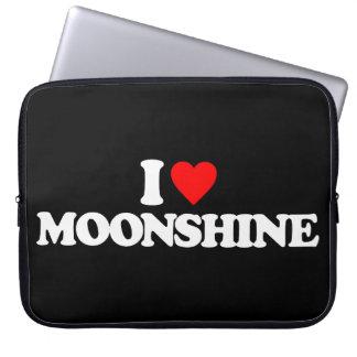 I LOVE MOONSHINE LAPTOP COMPUTER SLEEVES