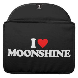 I LOVE MOONSHINE MacBook PRO SLEEVE