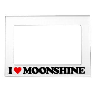 I LOVE MOONSHINE MAGNETIC FRAME