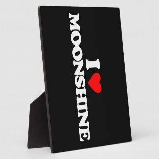 I LOVE MOONSHINE PHOTO PLAQUES