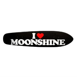 I LOVE MOONSHINE SKATEBOARD DECK