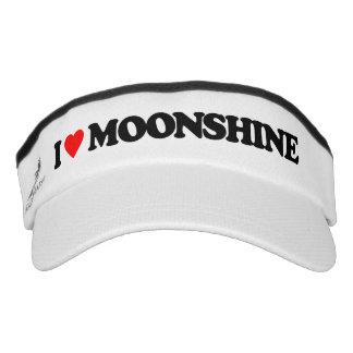 I LOVE MOONSHINE VISOR