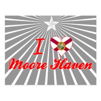 I Love Moore Haven, Florida Postcard