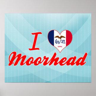 I Love Moorhead, Iowa Print