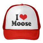 I Love Moose Hats