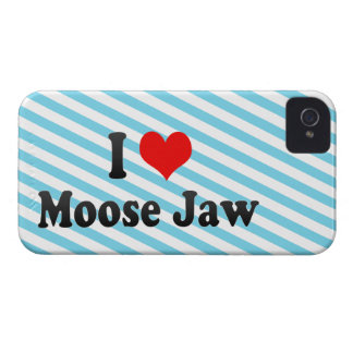 I Love Moose Jaw, Canada Case-Mate iPhone 4 Cases