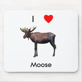 I love moose mouse pad