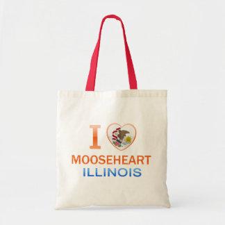I Love Mooseheart IL Bag