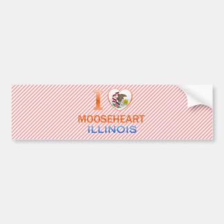 I Love Mooseheart IL Bumper Sticker