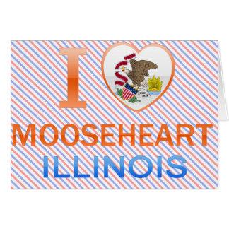 I Love Mooseheart IL Card