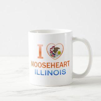 I Love Mooseheart IL Coffee Mugs
