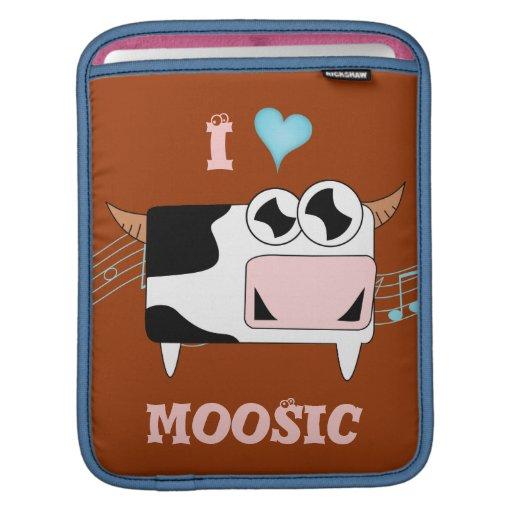 I Love Moosic iPad Sleeve