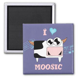 I Love Moosic Magnet