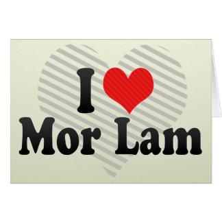 I Love Mor Lam Cards