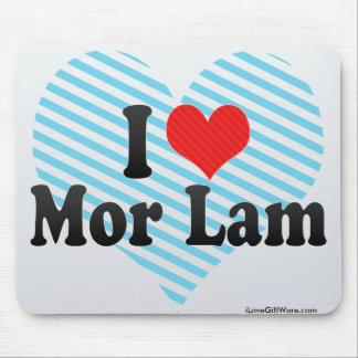 I Love Mor Lam Mousepads