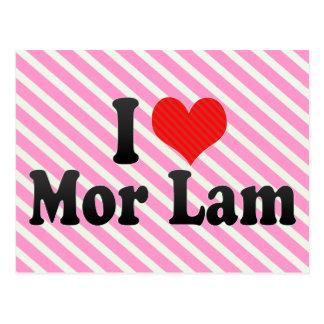 I Love Mor Lam Postcard