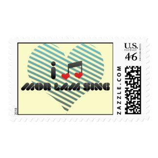 I Love Mor Lam Sing Stamp