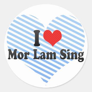I Love Mor Lam Sing Sticker