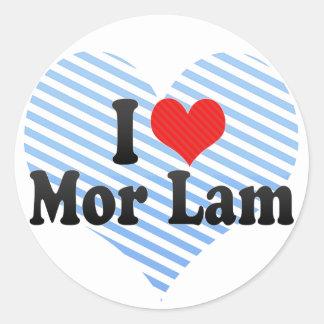 I Love Mor Lam Stickers