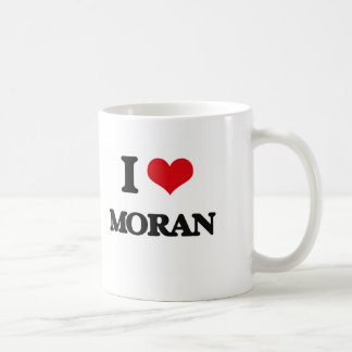 I Love Moran Classic White Coffee Mug