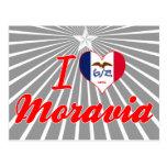 I Love Moravia, Iowa Postcard