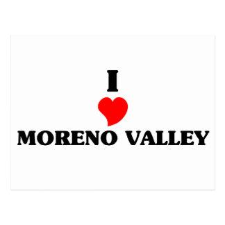 I love Moreno Valley Postcard