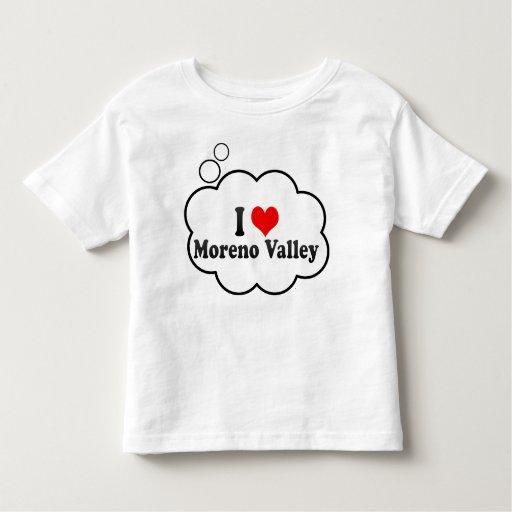 I Love Moreno Valley, United States T Shirts