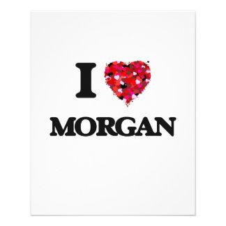 """I Love Morgan 4.5"""" X 5.6"""" Flyer"""
