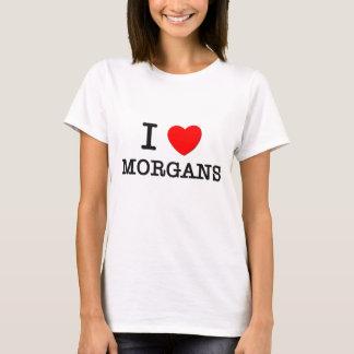 I Love Morgans (Horses) T-Shirt