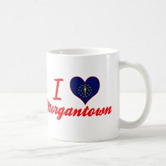 I Love Morgantown, Indiana Classic White Coffee Mug