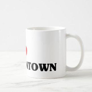 I love Morgantown Classic White Coffee Mug