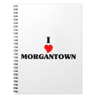 I love Morgantown Spiral Notebook