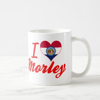 I Love Morley, Missouri Coffee Mugs