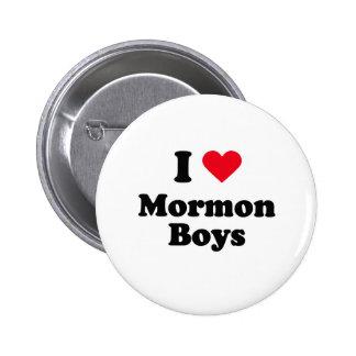 I love mormon boys button
