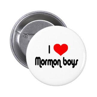 I Love Mormon Boys 2 Inch Round Button