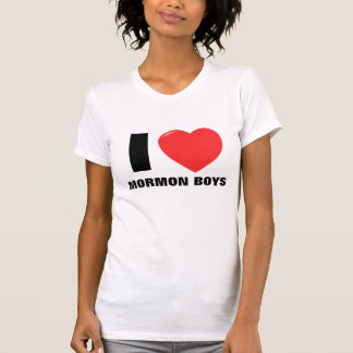 I Love Mormon Boys Gifts T-Shirt
