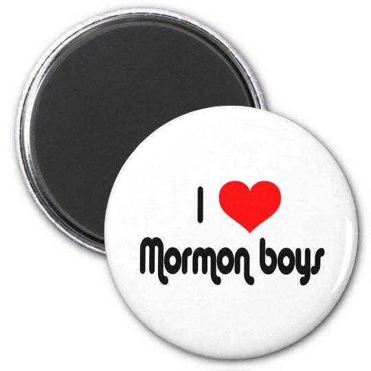 I Love Mormon Boys Magnet
