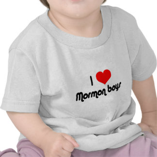 I Love Mormon Boys Tshirts