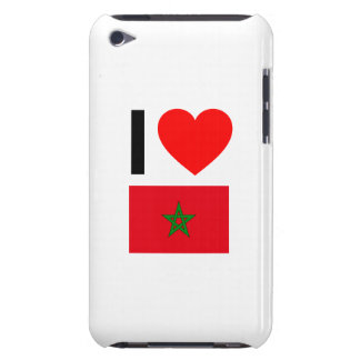 i love morocco iPod touch Case-Mate case