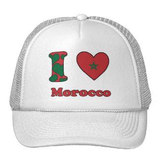I love Morocco Trucker Hat