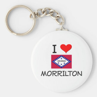 I Love MORRILTON Arkansas Keychains