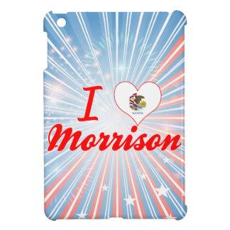 I Love Morrison, Illinois iPad Mini Cover