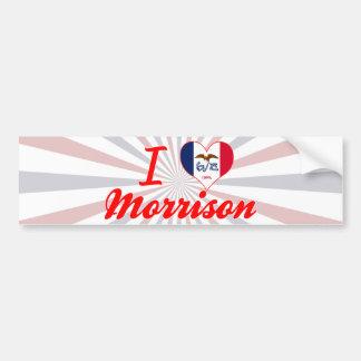 I Love Morrison, Iowa Bumper Sticker
