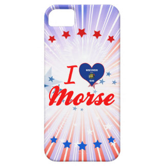 I Love Morse, Wisconsin iPhone 5 Covers