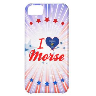I Love Morse, Wisconsin iPhone 5C Cases