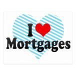 I Love Mortgages Postcard