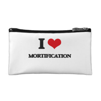 I Love Mortification Makeup Bags
